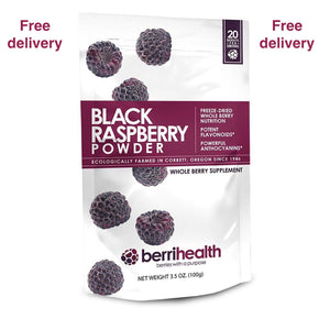 Berrihealth Black Raspberry Powder UK