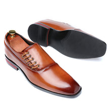 Load image into Gallery viewer, Classic Leather Dress Shoes - taebatsmerch