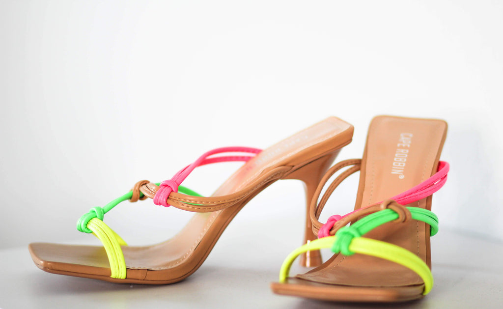 Spring Ting- Multi Color Sandal