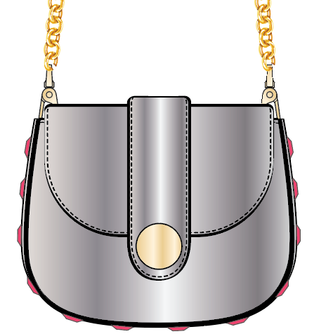Mini Chain Saddle Shoulder Bag - Advanced