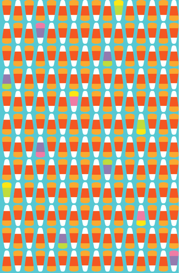 Candy Corn Repeat Print