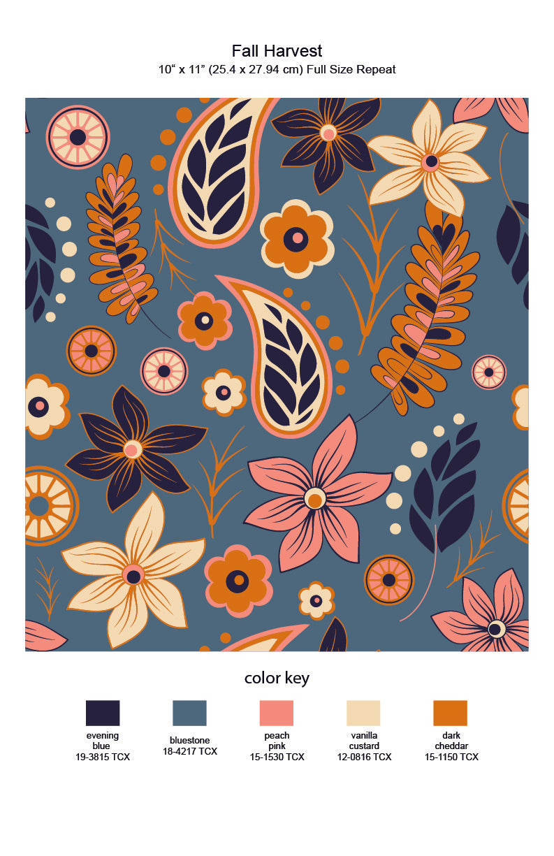 Fall Harvest Repeat Print