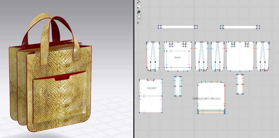 Clo3D Basic Handbags Design Workshop