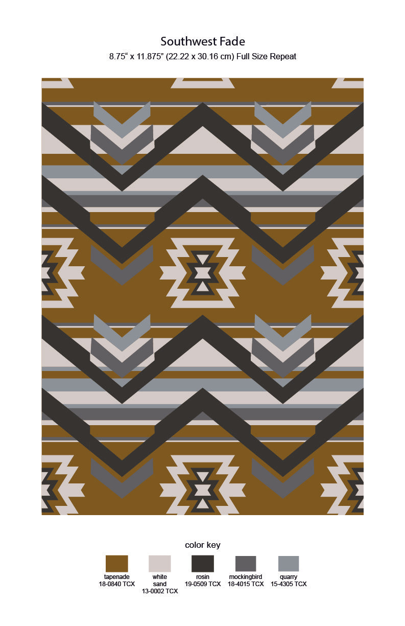 Southwest Fade Repeat Print