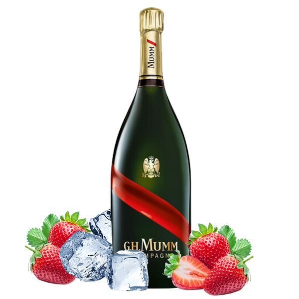 Fragole e Champagne Box con G.H. Mumm - Consegna cibo in veneto - Degustalo | Drink At Home