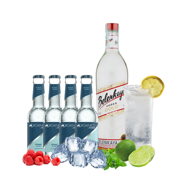 Vodka Belenkaya Organics Tonic Water