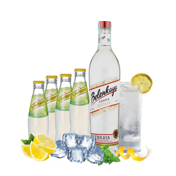 Vodka Lemon Box con Belenkaya