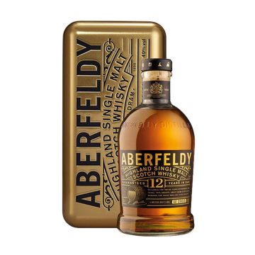 Aberfeldy Whiskey 12 Years Gold Pack 70cl
