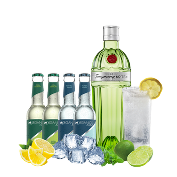 Tanqueray Ten Organics Bitter Lemon/Tonic Water Mix