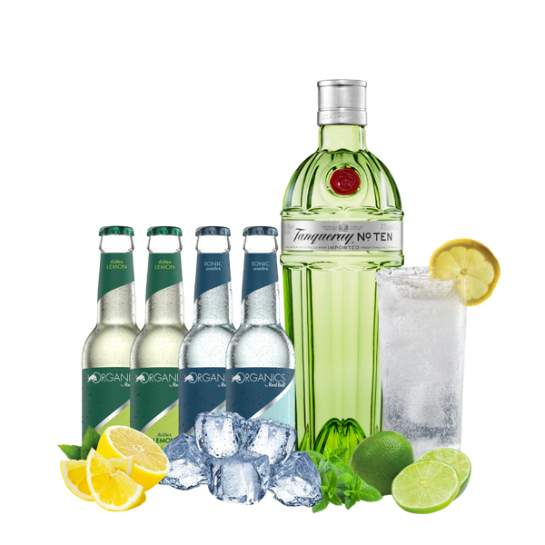 Tanqueray Ten Organics Bitter Lemon/Tonic Water Mix - Consegna cibo in veneto - Degustalo | Drink At Home