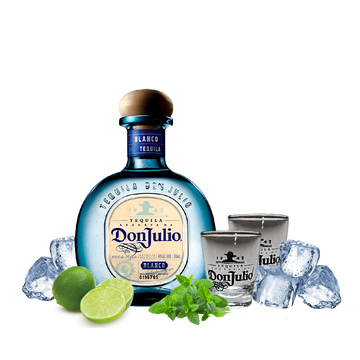 Don Julio Blanco Reserva Tequila + 2 Don Julio Tumbler