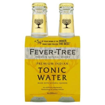 4 x Tonica Fever-Tree Premium Indian 20cl