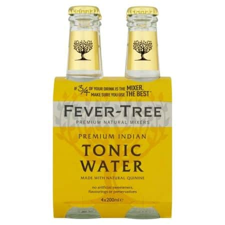 4 x Tonica Fever-Tree Premium Indian 20cl - Consegna cibo in veneto - Degustalo | Drink At Home