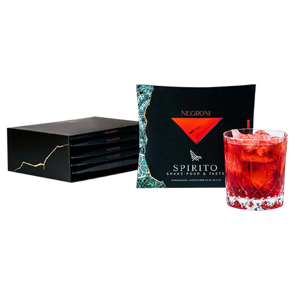 Spirito Negroni - Box 5 monogusto - Consegna cibo in veneto - Degustalo | Drink At Home