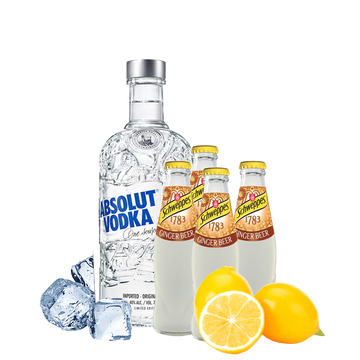 Moscow Mule Box con Absolut Vodka