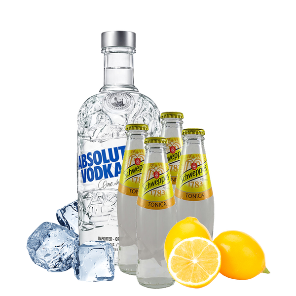 Vodka Tonic Box con Absolut Vodka - Degustalo