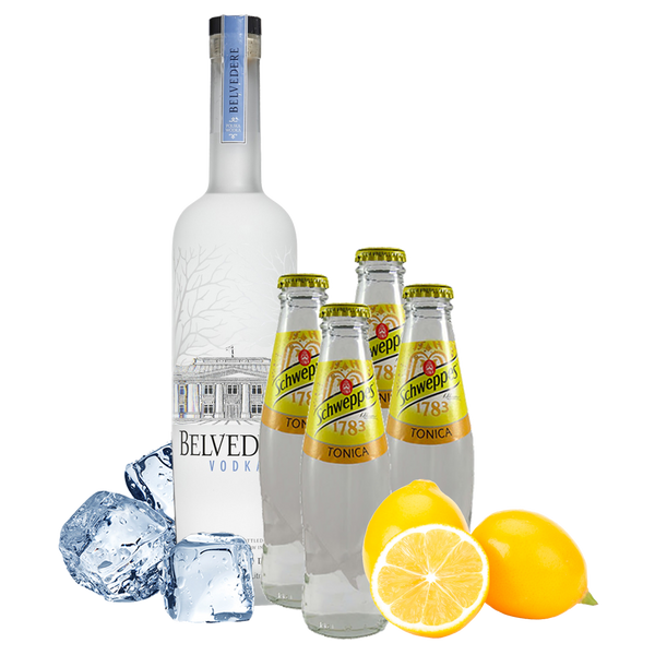 Vodka Tonic Box con Belvedere Vodka - Degustalo