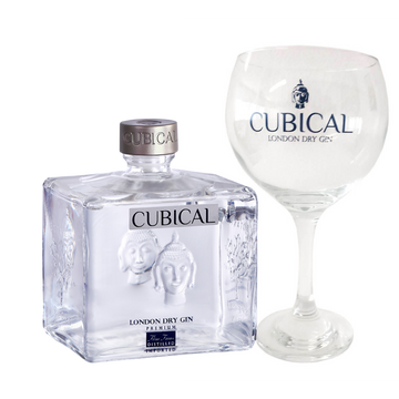 Williams & Humbert Botanic Premium Cubical Gin + 2 Bicchieri in vetro