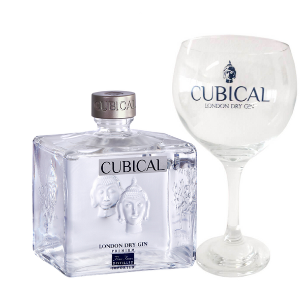 Williams & Humbert Botanic Premium Cubical Gin + 2 Bicchieri in vetro - Consegna cibo in veneto - Degustalo | Drink At Home