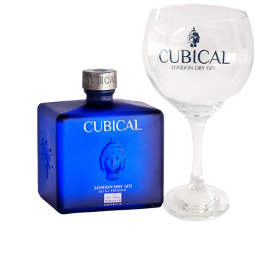 Williams & Humbert Botanic Ultra Premium Cubical Gin + 2 Bicchieri in vetro