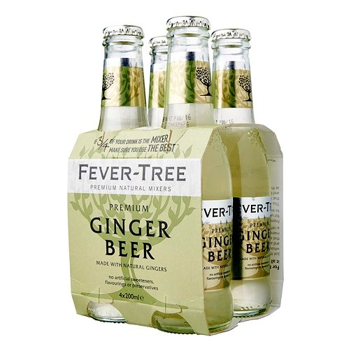 4 x Ginger Beer Fever-Tree 20cl - Degustalo