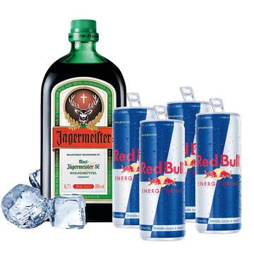 Jagermeister con Red Bull Box