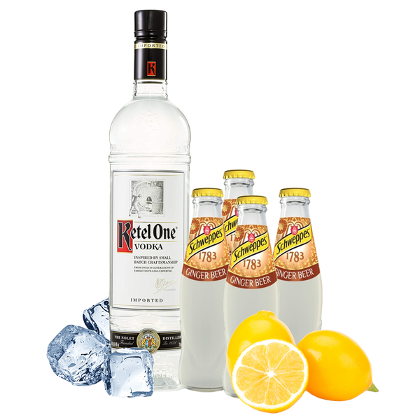 Moscow Mule Box con Ketel One Vodka - Degustalo