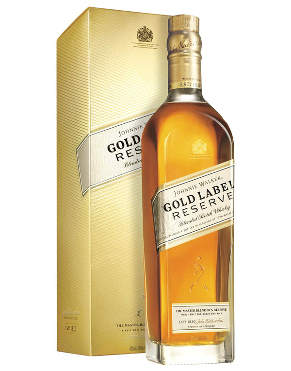 Johnnie Walker Gold Label Reserve Blended Scotch Whisky - Consegna cibo in veneto - Degustalo | Drink At Home