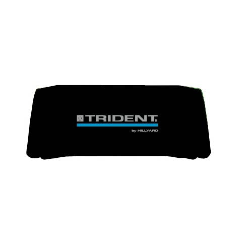 Trident by Hillyard 8' Black Table Throw