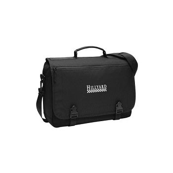 Black Port Authority Messenger Briefcase