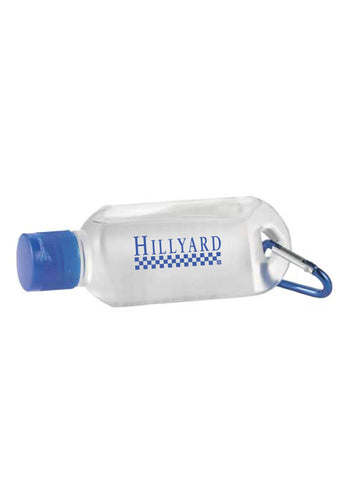 The Clip-N-Go Hand Sanitizer (Royal/Clear)