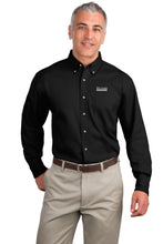 Load image into Gallery viewer, Port Authority Long Sleeve Twill Shirt