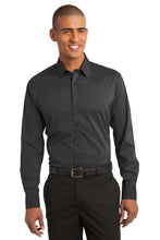Load image into Gallery viewer, Port Authority Stretch Poplin Shirt