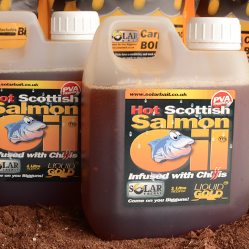 Solar Tackle Chilli Salmon Oil