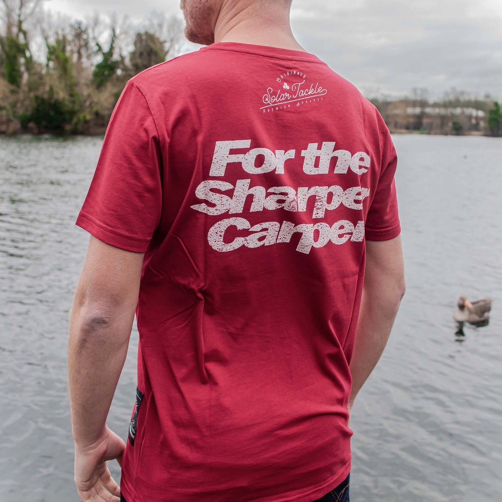 SHARPER CARPER T-SHIRT RED