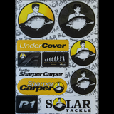 SOLAR TACKLE WATERPROOF STICKERS