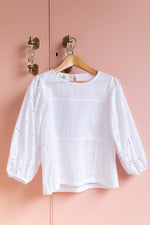 Josie Top White