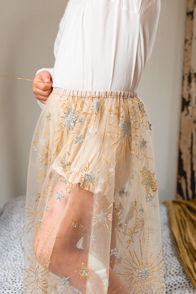 Luna Sheer Skirt
