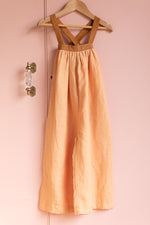 Goldie Overalls Peach Cinnamon