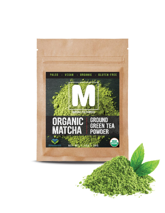 100% USDA CERTIFIED ORGANIC Matcha Green Tea Powder