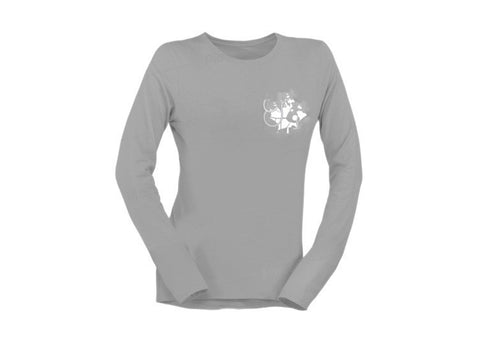 Nurse Women's Long Sleeve T-Shirt - Grey