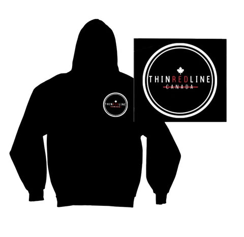 Circle Hoodie - Thin Red Line