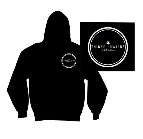 Circle Hoodie - Thin Yellow Line