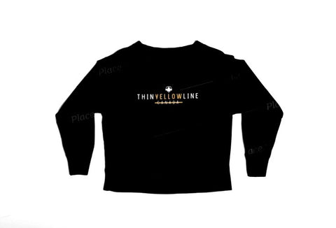 Original Crew Neck Sweater - Thin Yellow Line