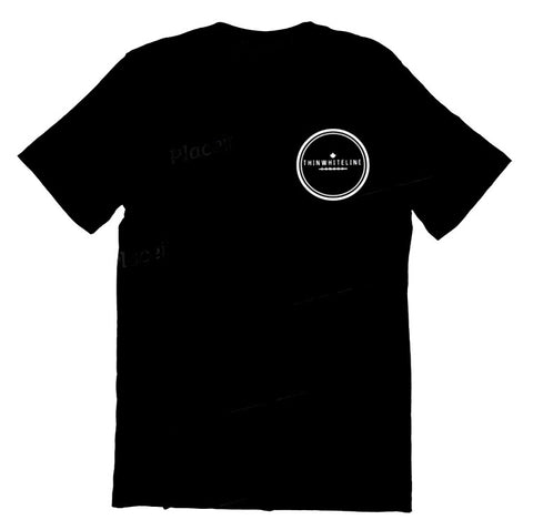Circle T-Shirt - Thin White Line