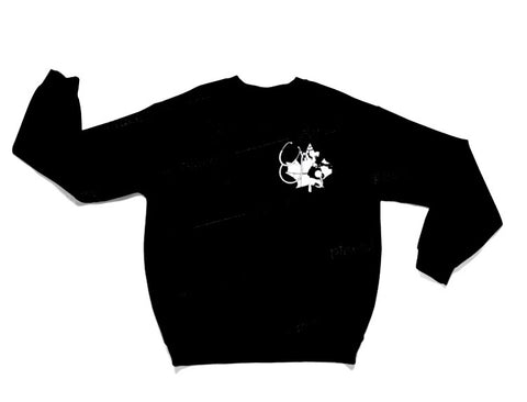 Nurse Crew Sweater - Black