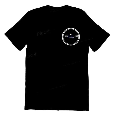 Circle T-Shirt - Thin Blue Line