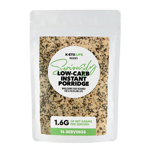 Seriously Low Carb Instant Porridge - Seriously Low Carb - Keto Diet - Diabetic Food - Low Carb Food