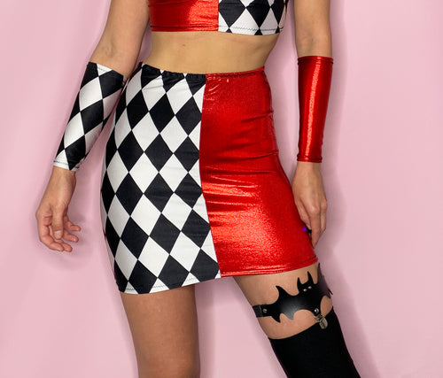 womens joker harley quinn halloween costume dress