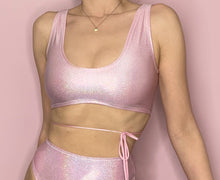 Load image into Gallery viewer, pink rave top